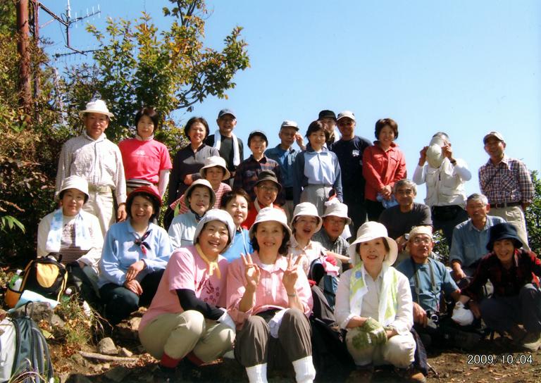 H21.10.4 市民ハイキング(斑尾山にて)